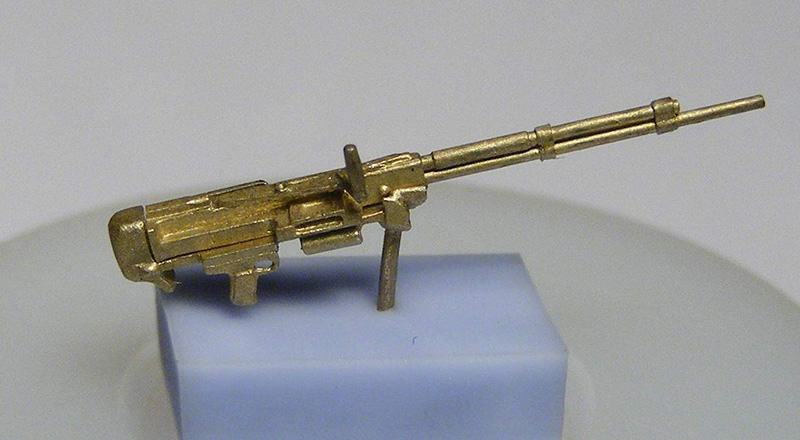 Miniworld 1/72 UBT machine gun