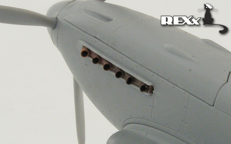 REXX metal exhaust pipes for 1/72 Yakovlev Yak-3