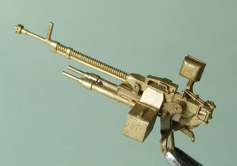 Miniworld 1/72 DShKM Soviet heavy machine gun on tank mount