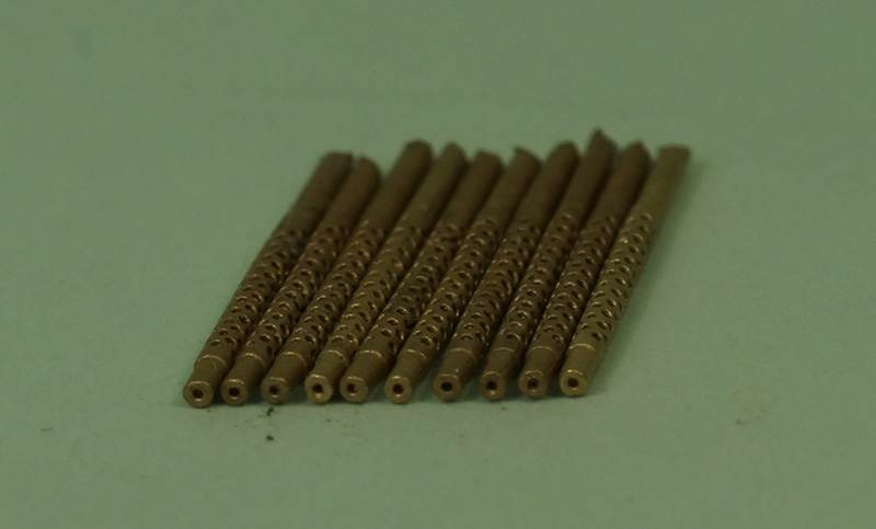 Miniworld 1/72 Browning Machine Gun .30 cal barrel (10 pieces)