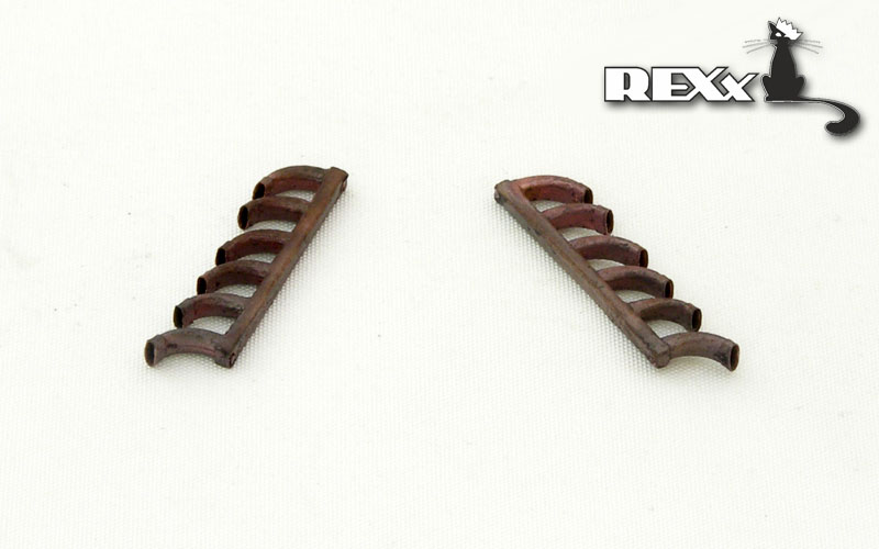 REXX metal exhaust pipes for 1/48 Focke-Wulf Fw-190D