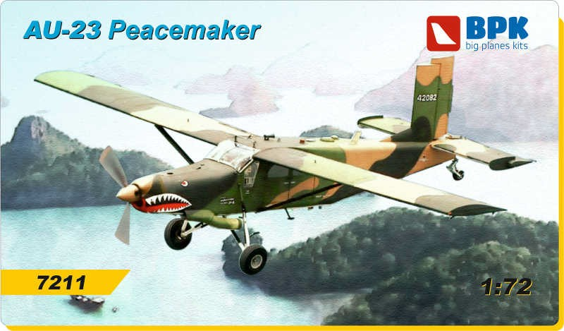 BPK 1/72 AU-23 Peacemaker American utility aircraft