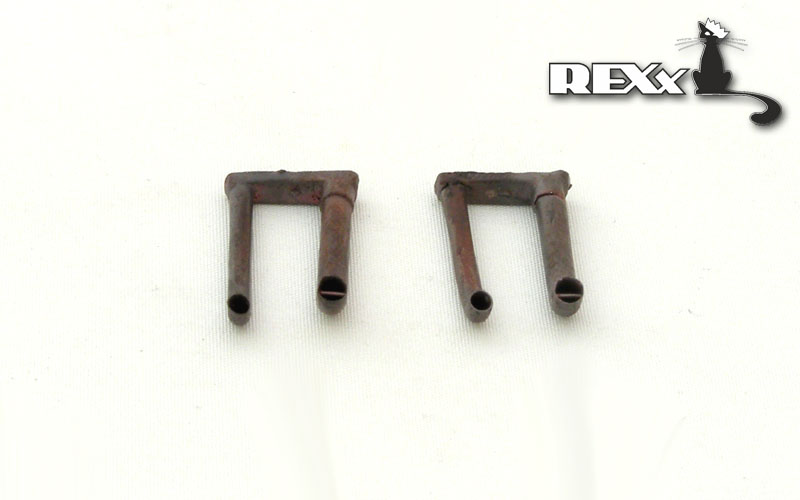 REXX metal exhaust pipes for 1/35 Panther A with cooler, German WWII tanks