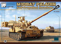 Panda 1/35 M109A7 American 155-mm turreted self-propelled howitzer