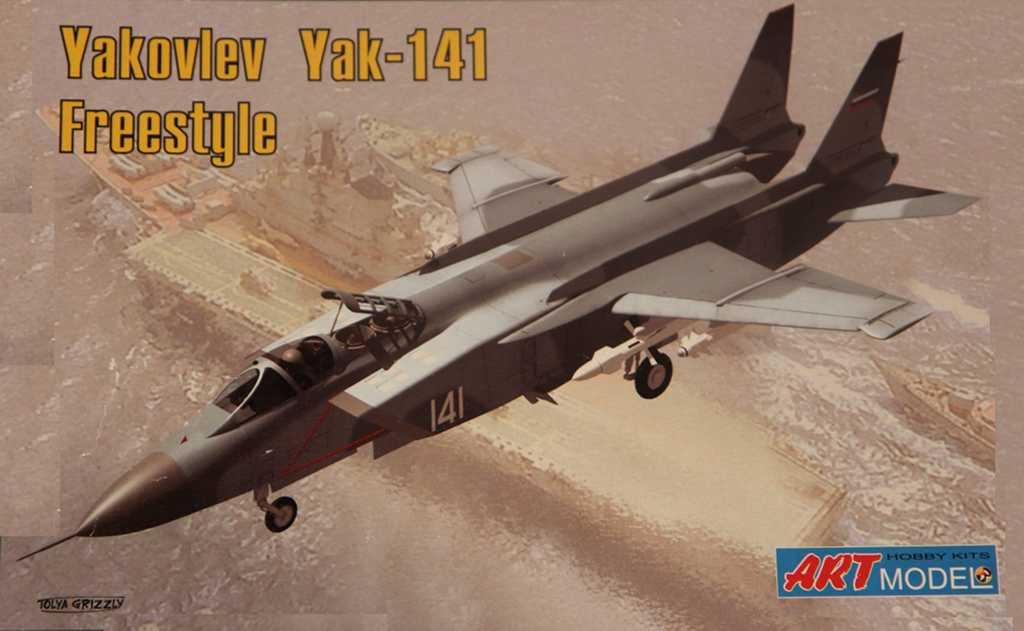 ArtModel 1/72 Yakovlev Yak-141 Freestyle, Soviet VTOL fighter aircraft
