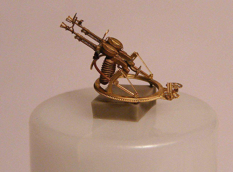 Miniworld 1/72 Degtyarev Aircraft twin MG on turret TUR-5