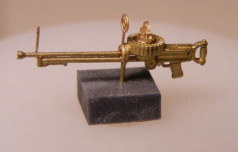 Miniworld 1/72 Lewis Mk III machine gun