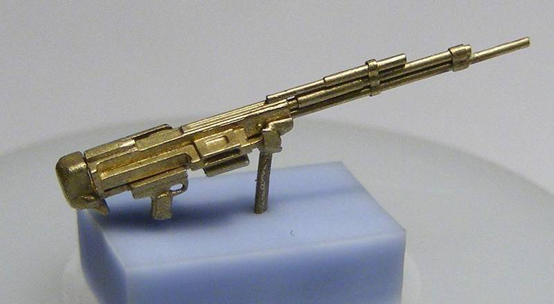 Miniworld 1/72 UBS machine gun