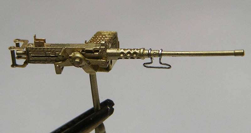 Miniworld 1/72 Browning M2 .50 cal, on tank mount