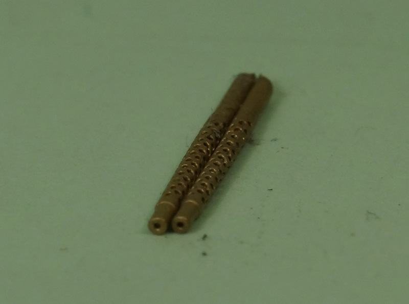 Miniworld 1/72 Browning Machine Gun .30 cal barrel (2 pieces)