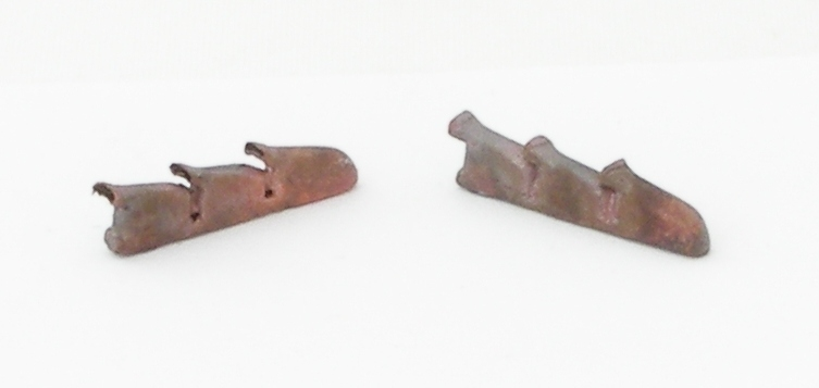 REXX metal exhaust pipes for 1/72 Hurricane Mk. II