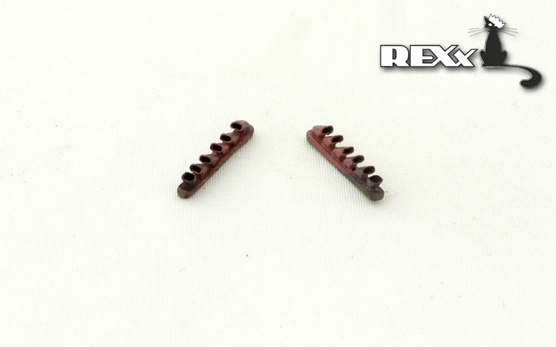 REXX metal exhaust pipes for 1/72 Ilyushin Il-2