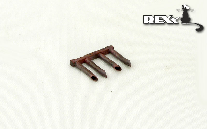 REXX metal exhaust pipes for 1/72 Tupolev SB-2M 100