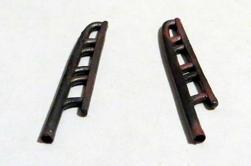 REXX metal exhaust pipes for 1/48 Lavochkin LaGG-3, series 1-23