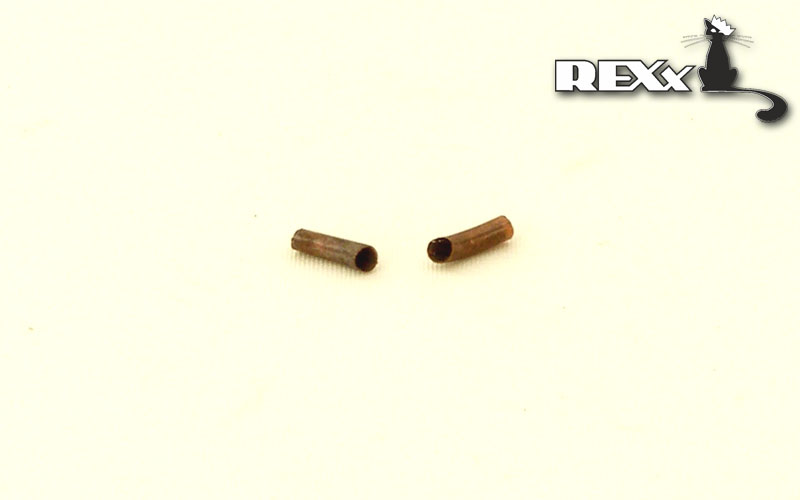 REXX metal exhaust pipes for 1/72 T-34, Soviet WWII tank