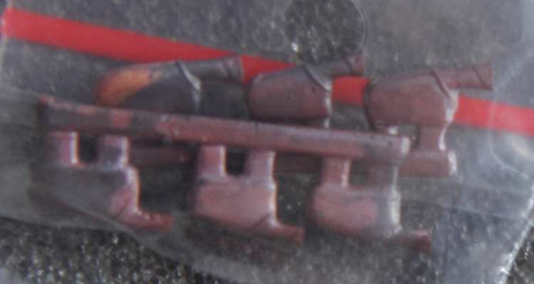 REXX metal exhaust pipes for 1/48 Spitfire Mk.V