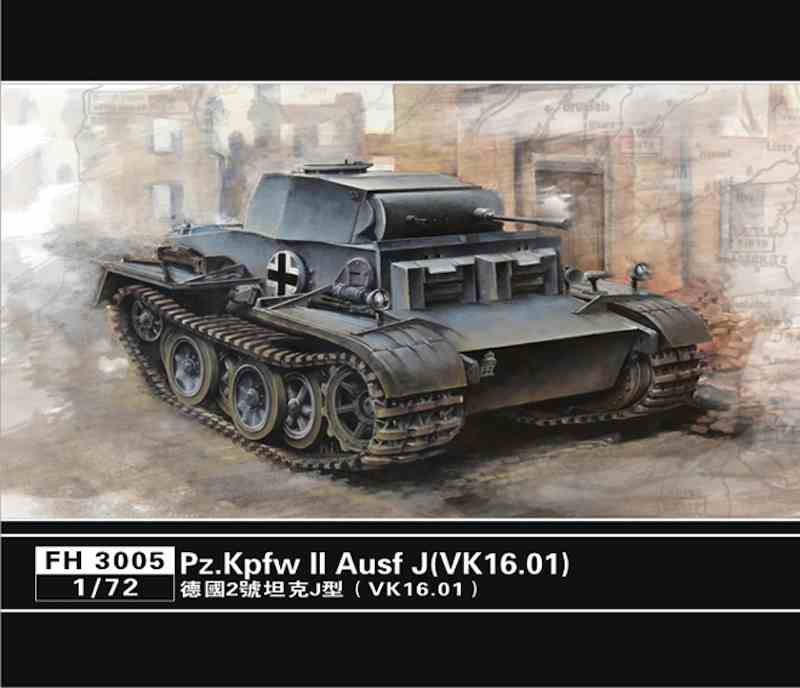 Flyhawk 1/72 Pz.Kpfw II Ausf J German WWII light tank