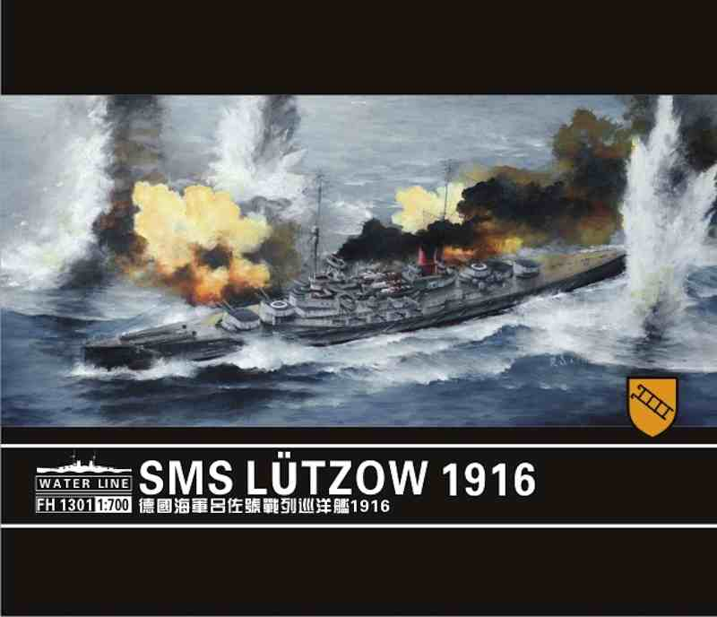 Flyhawk 1/700 SMS Lützow, German WWI battlecruiser