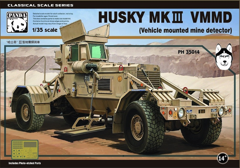 Panda 1/35 Husky VMMD (Vehicle Mounted Mine Detector)