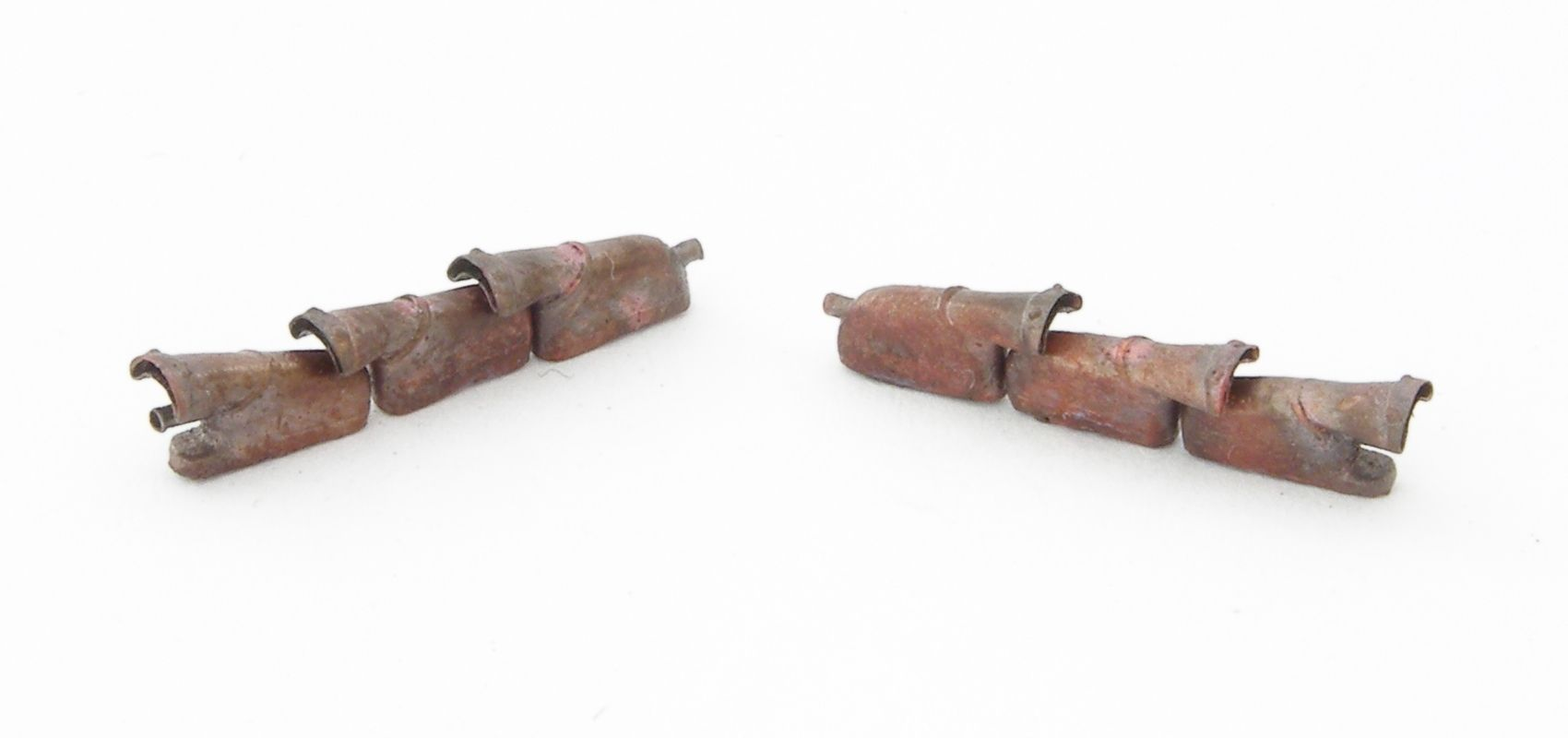 REXX metal exhaust pipes for 1/48 Spitfire Mk.V with heater system