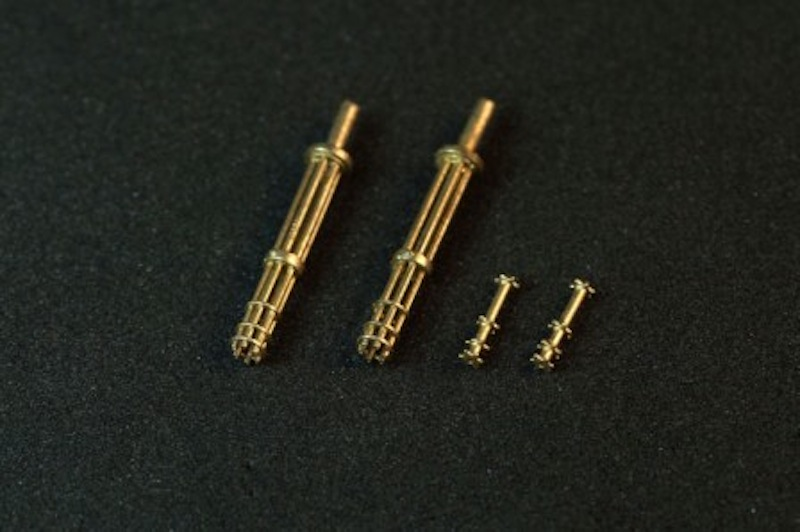 Miniworld 1/72 M134 Minigun barrels, early version (2 pieces)