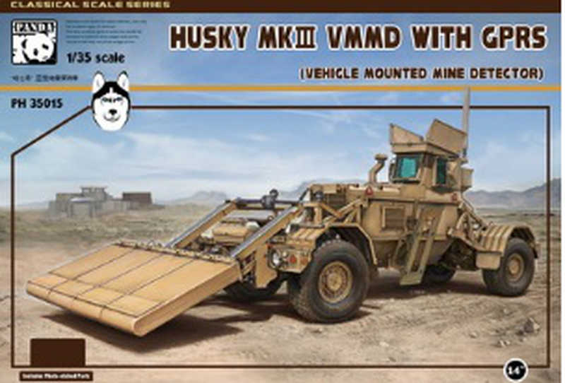 Panda 1/35 Husky Mk.II VMMD (Vehicle Mounted Mine Detector) with GPRS