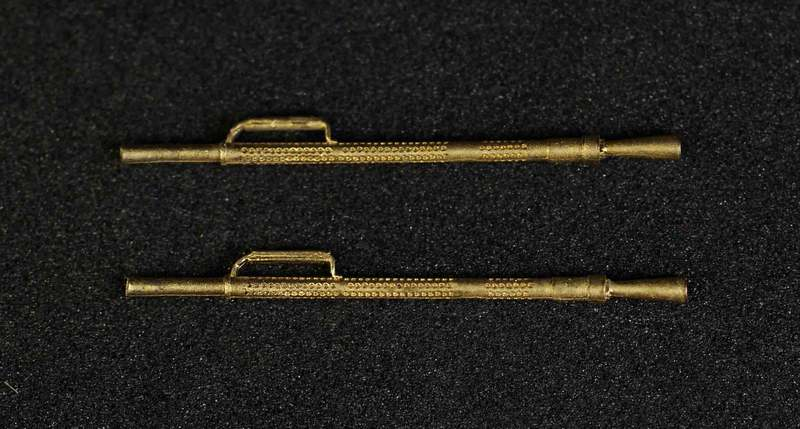 Miniworld 1/72 KPVM 14,5mm machine gun barrel, type 3 (2 pieces)
