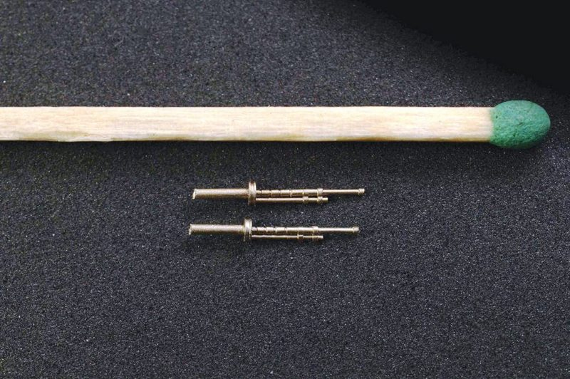 Miniworld 1/72 DT-29 Soviet  machine gun barrels (late), (2 pieces)
