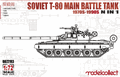 Modelcollect 1/72 Soviet Army T-80 Main Battle Tank, 1980s-1990s