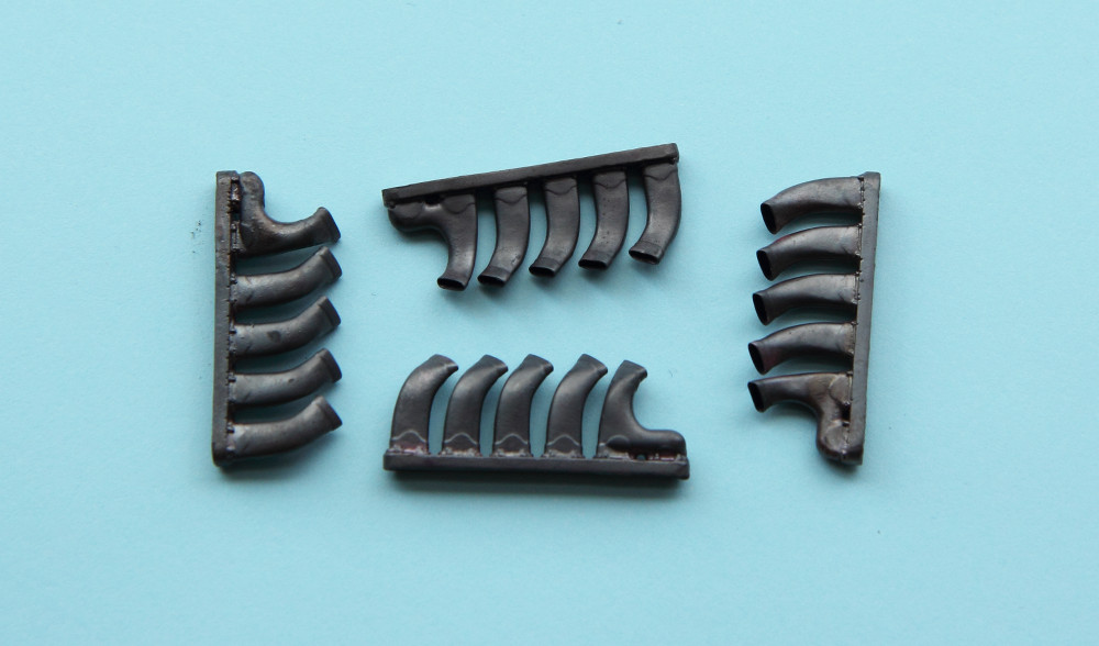 REXX metal exhaust pipes for 1/32 De Havilland Mosquito Mk.IV/VI