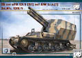 Panda 1/35 15cm sFH13/1 German WWII self-propelled howitzer on Lorraine chassis